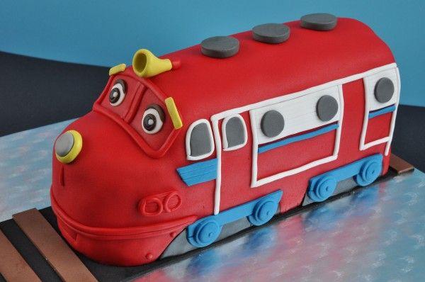 Tarta Wilson - Chuggington Cake