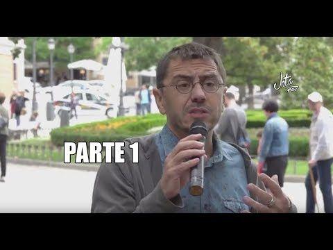 Discurso de Juan Carlos Monedero en el retiro. 21 Mayo [PARTE 1]