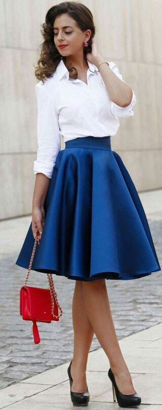 17 Best ideas about Royal Blue Skirts on Pinterest   Royal ... - photo#10