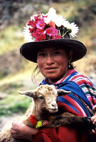 Quechua people are so close to nature. I'm sure they (mostly) have a beautiful soul and peaceful mind.
