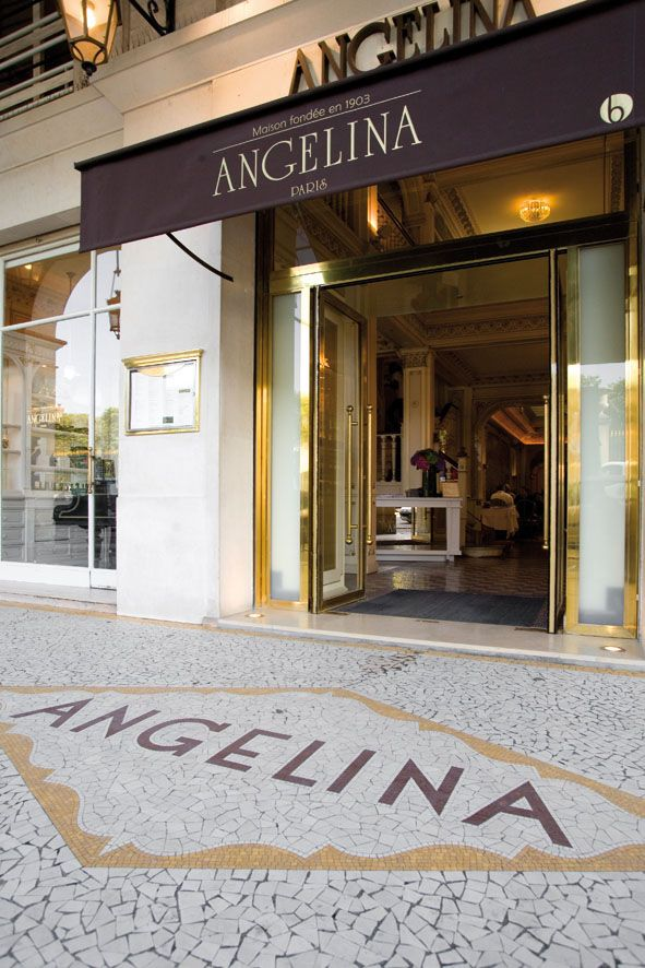 Angelina is one of the reasons EVERYONE must walk the Rue de Rivoli.  The best Hot Chocolate and deserts in the city!
