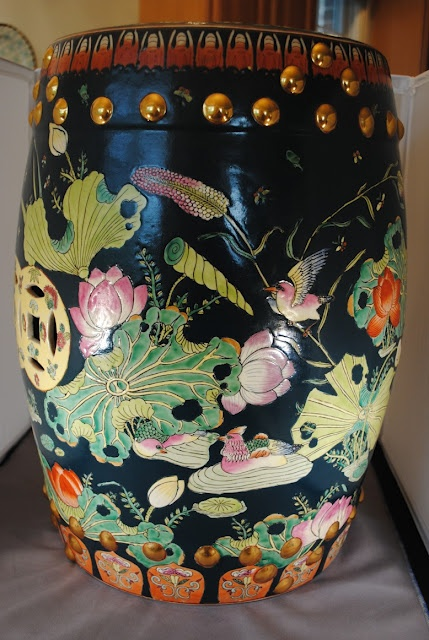 love this vintage garden stool from Matters of Style
