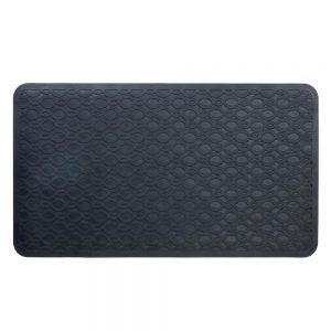 Black Rubber Bathtub Mat