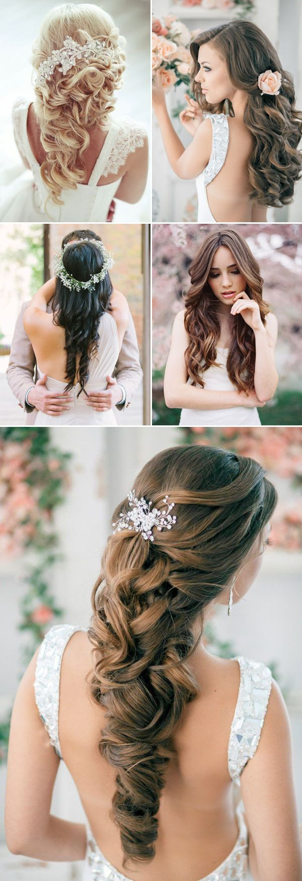 1077 best wedding hairstyles & accessories images on pinterest