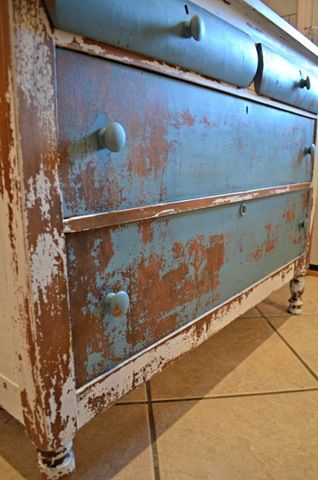 Dresser Makeover {Furniture Before and After} - Refunk My Junk: Revamp, Repurpose, Refunk.