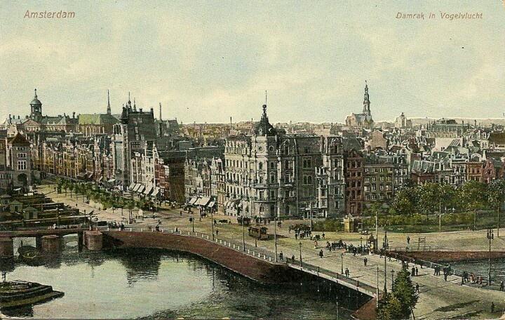 Damrak Amsterdam 1900