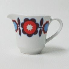 Seltmann Weiden 70s retro white jug, Bavaria, W Germany. Anja?