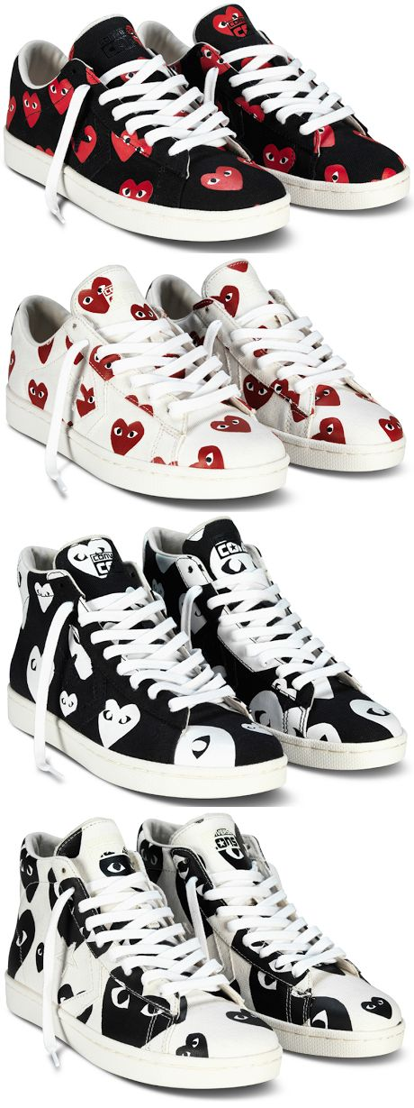 PLAY COMME des GARCONS x Converse Pro Leather