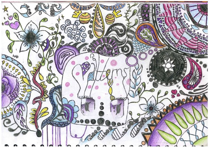 Patterns Title Page created by Miss Allen's student 2014/15 at Princess Helena College