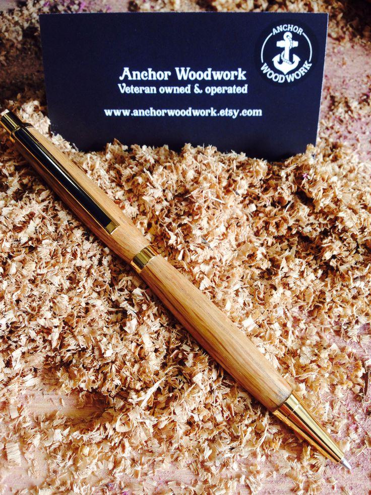 Mechanical pencil made with Jack Daniels barrel staves !   https://www.etsy.com/listing/199940597/jack-daniels-mechanical-pencil