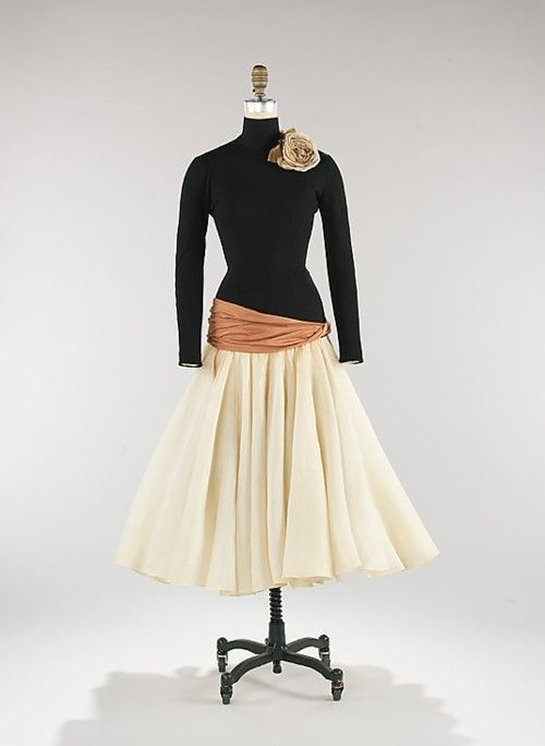 Dress, Norman Norell, 1957, The Metropolitan Museum of Art