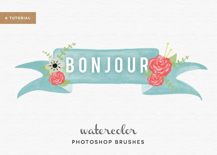A Tutorial // How to Make Watercolor Photoshop Brushes (CS6)