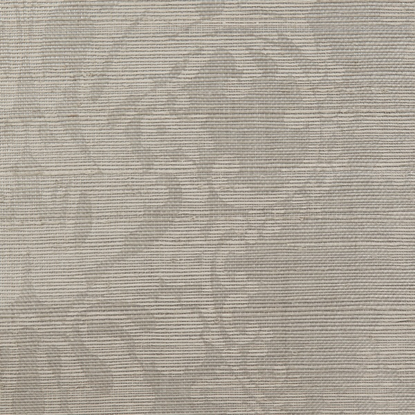 BEAUTIFUL Printed grasscloth - Canadice in Silver // wallcovering // wallpaper  ||  Holland & Sherry Interiors