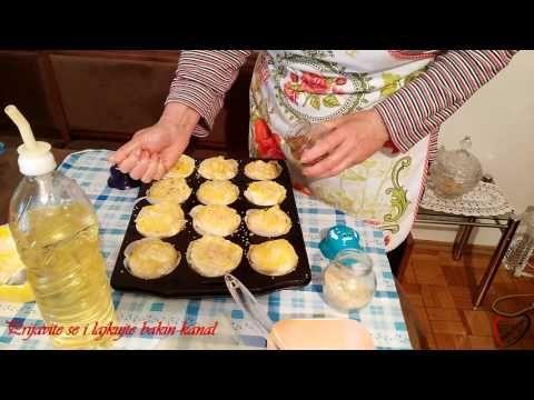Bakina kuhinja - pita sa sirom i kajmakom (Pie with cream and cheese) - YouTube