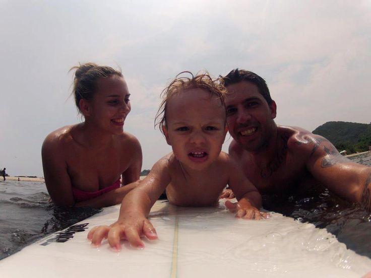 #family#surf#go-pro