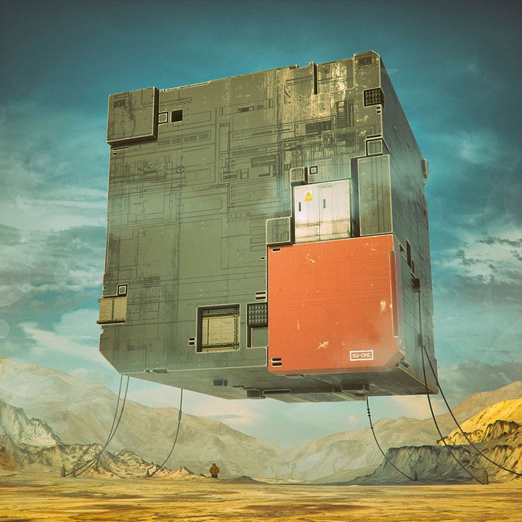 Best Цифровое искусство Images On Pinterest D Design D - Digital artist places pop culture icons in eerie apocalyptic scenes