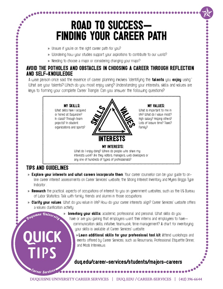 a magnifying glass hovering over several career fields centering on - how to plan your career path