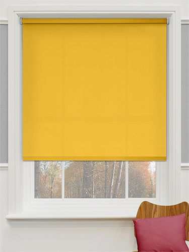 A Discreet Yellow Blind To Go Behind The Curtains And Produce A Warm Sunny  Feel To Wake Up To On Even The Dullest Morning. Valencia Neon Yellow Roller  Blind ...