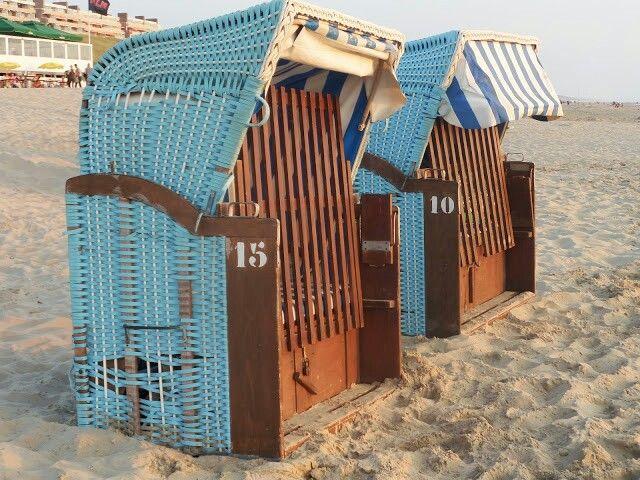 Strandstoelen Egmond aan Zee