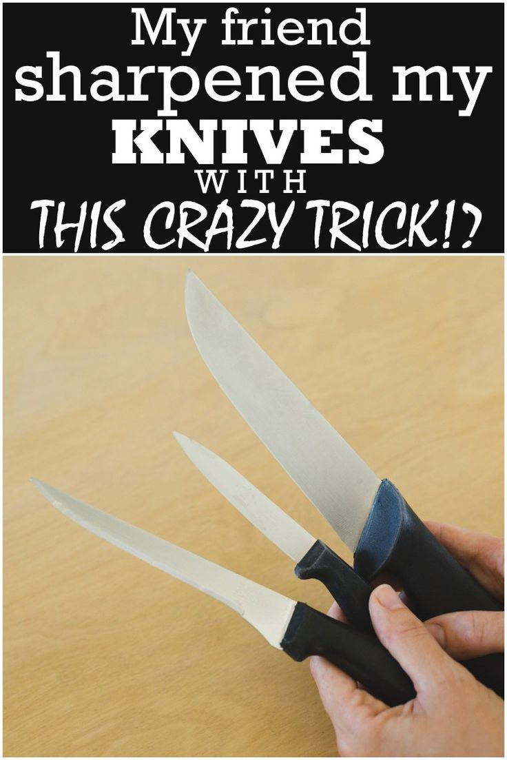 best 25 how to sharpen knives ideas on pinterest