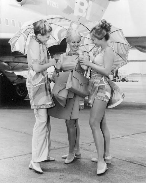 Braniff International Airways Stewardesses ~ Cabin Crew Photos