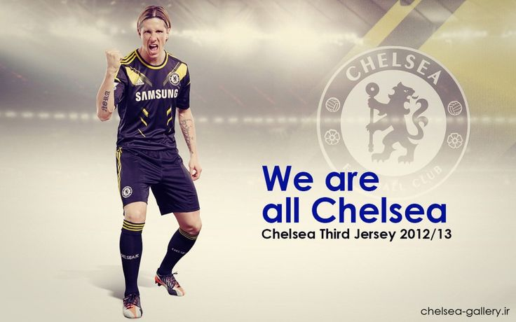 Fernando Torres Chelsea Third Jersey 2012-2013 HD Wallpapers
