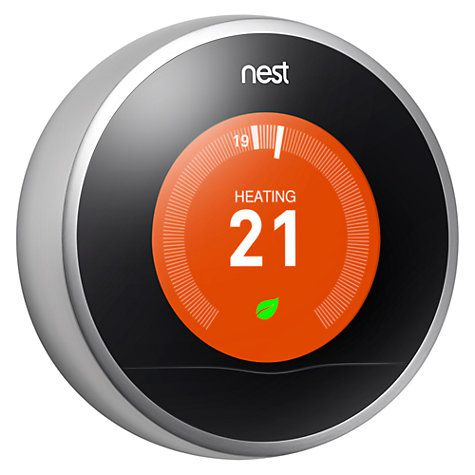 Buy Nest Learning Thermostat with Professional Installation Online at johnlewis.com