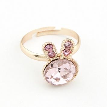 Pink Bunny Ring! So kawaii ^_^
