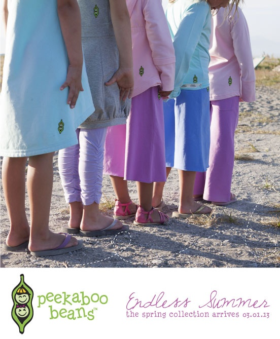 Peekaboo Beans Blog: Spring 2013 Collection - playwear for kids on the grow!  shop at www.peekaboobeans.com