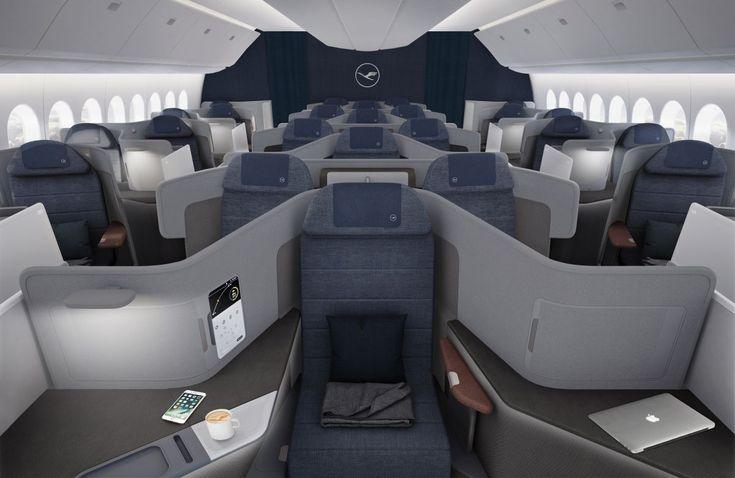 Lufthansa Unveils New Business Class Concept
