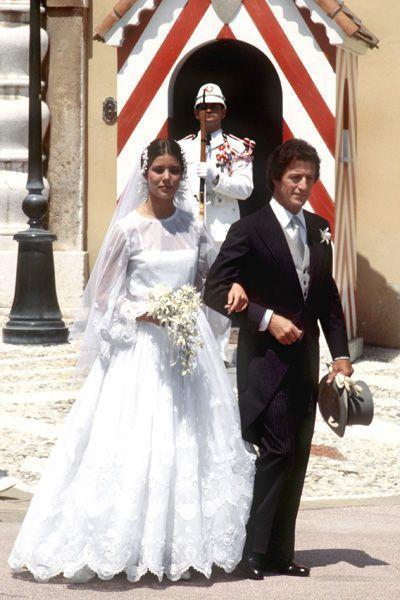 Caroline de Monaco épouse Philippe Junot en 1978