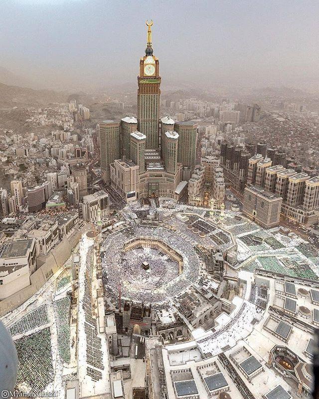 Amazing View For Masjid Al Haram Makkah Allah Islam Quran Prophet Pray Muslim Instagood Islamicquotes Makkah Madinah Isla Masjid Al Haram Masjid Mecca Masjid