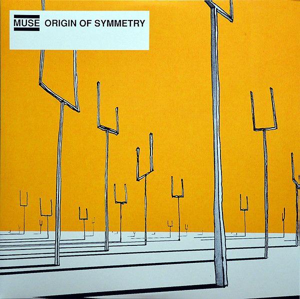 Muse Origin Of Symmetry 2lp New Amp Sealed Vinyl Reissue