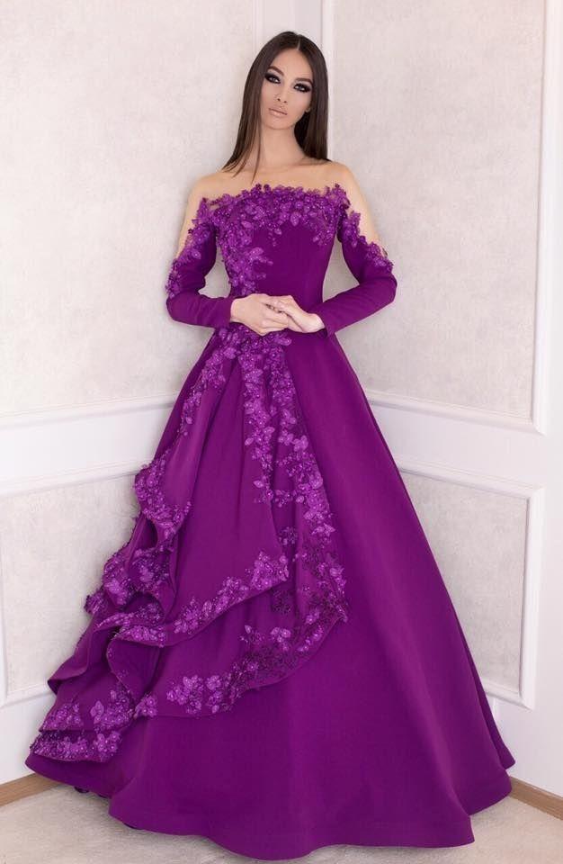 147 best ازياء عالمية images on Pinterest | Formal dresses, Formal ...