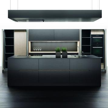 Küche Grau Schwarz