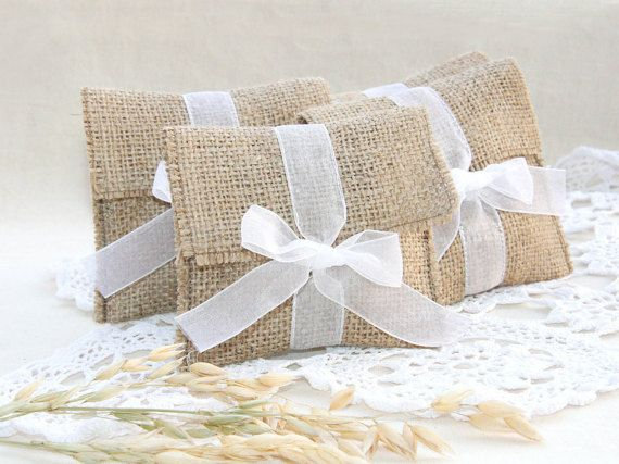Hey, I found this really awesome Etsy listing at https://www.etsy.com/listing/225860939/rustic-favor-bags-burlap-favor-bags