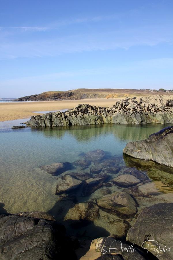 Plage de la Palue, Crozon Morgat, Brittany, FR