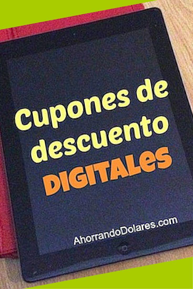 Cupones de descuento digitales: El futuro de los ahorros. Cupones de descuento gratuitos y al alcance de tus manos.