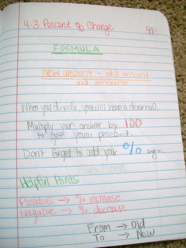 7th grade math notes