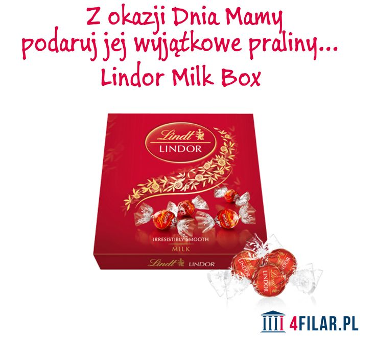 Lindor Milk Box