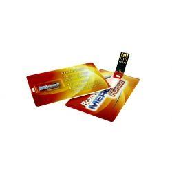 Clé USB carte de crédit 3.0 - Clé USB publicitaire spécial Quadri