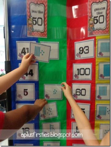 Great website for place value center games!