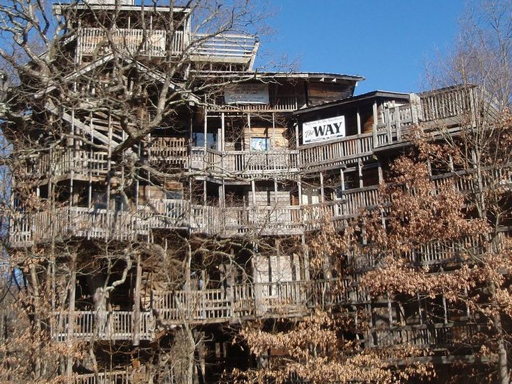 go inside the worlds largest treehouse which was inspired by god treehouse treehouses and tree houses