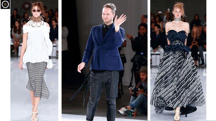 Avustralya Moda Haftasının en dikkat çekeni, 'grinin elli tonu' koleksiyonuyla Toni Maticevsk! Modern çizgilerin yer aldığı koleksiyon oldukça dikkat çekti.