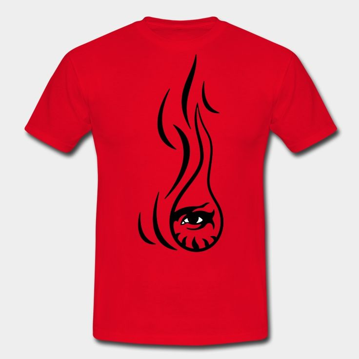 Œil-Flamme | Prométhée (Prometheus) | Impression sur Tee shirt #LesYeuxFertiles