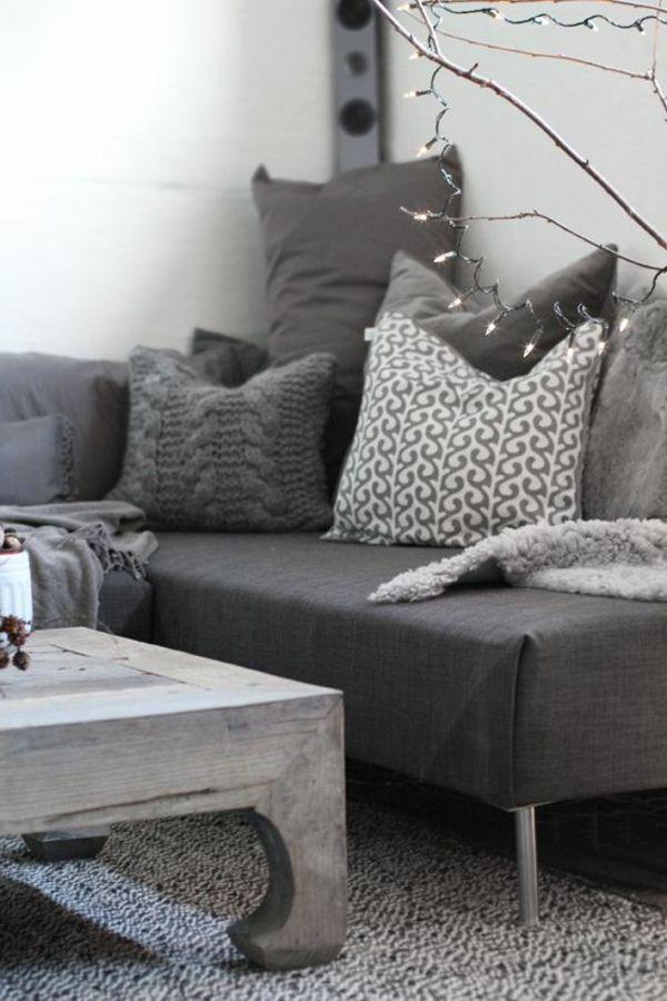 graue moebel einrichtung modern ideen m belideen. Black Bedroom Furniture Sets. Home Design Ideas