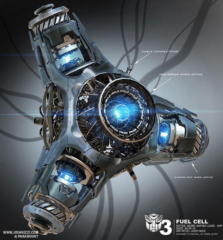 Fuel Cell, Transformers 3