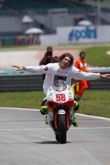 Marco Simoncelli #SIC58 #250cc world champion