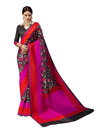 623f7510b ELINA FASHION Sarees For Women Banarasi Art Silk Woven Saree l Indian  Wedding Wear Sari (