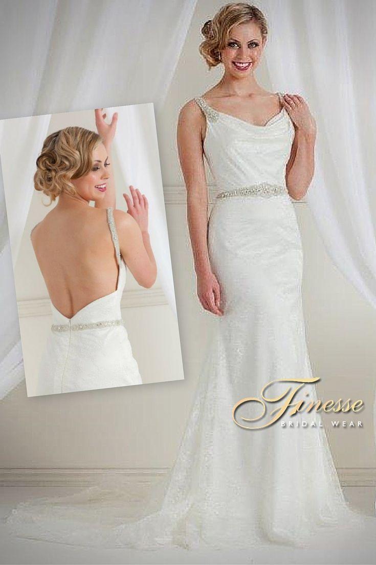 #Slinky #Fitted #WeddingDress by Finesse Bridal Wear in Listowel, Co Kerry